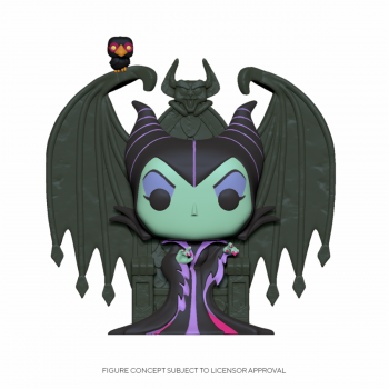Funko POP! Deluxe Villains - Maleficent on Throne Vinyl Figure