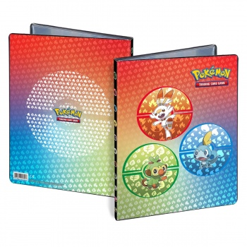 UP - 9 Pocket Portfolio - Pokémon Sword and Shield Galar Starters