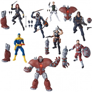 Marvel Legends Black Widow Assortment (8) 15cm