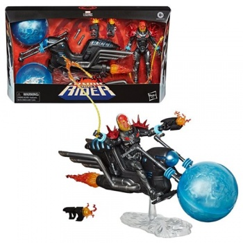Marvel Legends Cosmic Ghost Rider 6-Inch Action Figure with Bike Vehicle