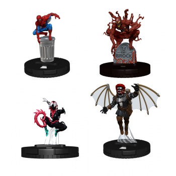 Marvel HeroClix: Spider-Man and Venom Absolute Carnage Booster Brick - EN
