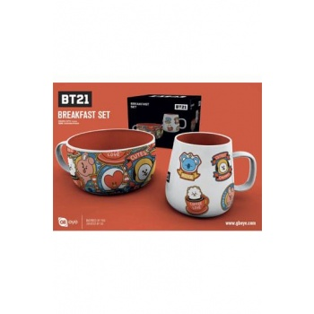 GBeye Breakfast Set - BT21 Icons