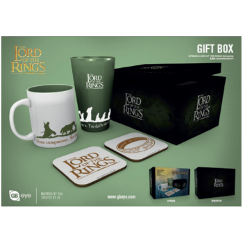 GBeye Gift Box - Lord of The Rings Fellowship
