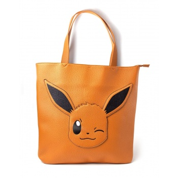 Pokémon - Eevee Tote Bag With All Over Printed Lining