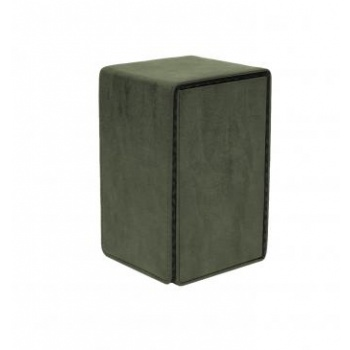 UP - Alcove Tower Suede Collection - Emerald
