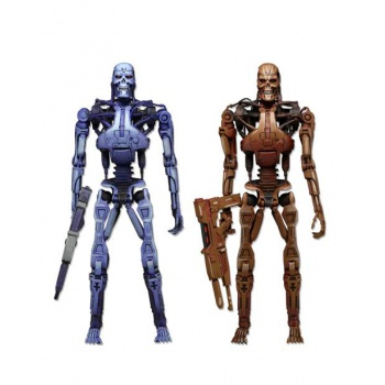 Robocop Vs Terminator 1993 Video Game Series 2 - Endoskeleton 2-Pack Action Figure 18cm