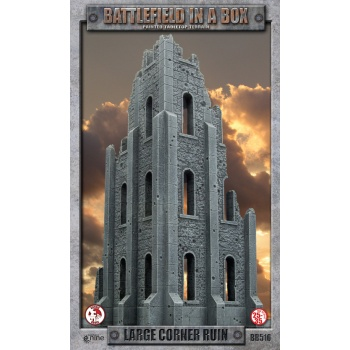 Battlefield in a Box - Large Corner Ruin