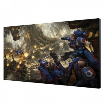 Urban Conquest Wood Panel - Warhammer 40K