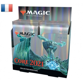 MTG - M21 Core Set Collector Booster Display (12 Packs) - FR