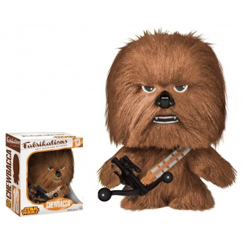 Funko Fabrikations: Star Wars - Chewbacca Plush Action Figure 6-inch
