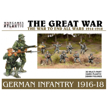 The Great War - German Infantry (1916-1918) - EN