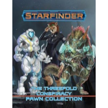 Starfinder Pawns: The Threefold Conspiracy Pawn Collection - EN