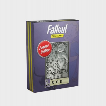 Fallout Limited Edition Perk Card - Luck