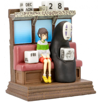 Ghibli - Spirited Away - Perpetual Calendar Unabara Train