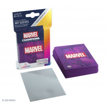 Gamegenic - Marvel Champions Art Sleeves - Marvel Purple (50+1 Sleeves)