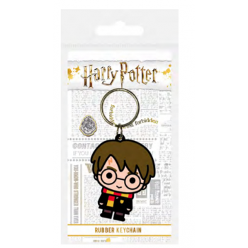 Pyramid Rubber Keychains - Harry Potter (Chibi)
