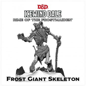 D&D Icewind Dale: Rime of the Frostmaiden - Frost Giant Skeleton (1 fig)