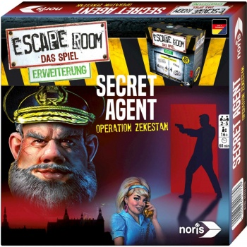 Escape Room Secret Agent - DE