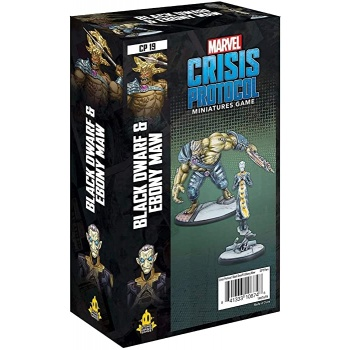 Marvel Crisis Protocol: Black Dwarf and Ebony Maw- EN