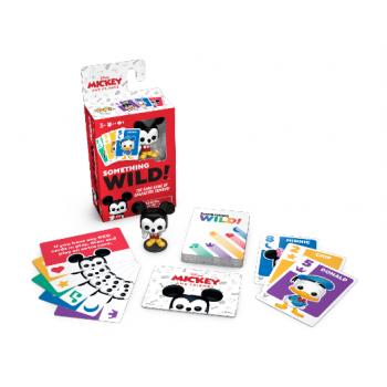 Something Wild Card Game - Mickey & Friends - EN/FR