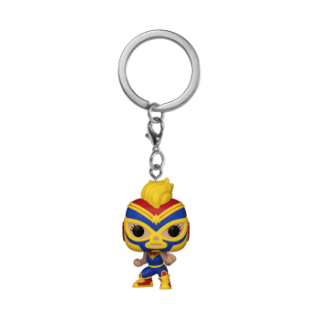 Funko POP! POP Keychain: Marvel Lucha Libre - Captain Marvel