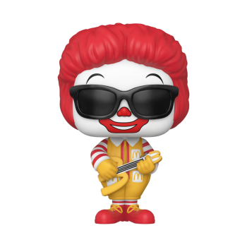 Funko POP! McDonalds - Rock Out Ronald Vinyl Figure 10cm