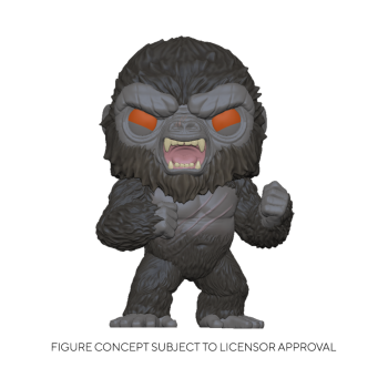 Funko POP! Godzilla Vs Kong - Battle-Ready Kong Vinyl Figure 10cm