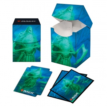 UP - Magic: The Gathering Kaldheim PRO 100+ Deck Box and 100ct sleeves featuring Commander Art 2