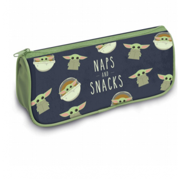 Pyramid Pencil Cases - Star Wars: The Mandalorian (Naps and Snacks)
