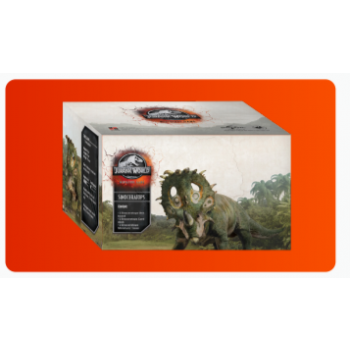 Jurassic World Miniature Game: SINOCERATOPS - FR