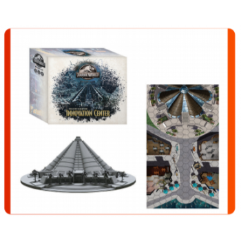 Jurassic World Miniature Game Collectors Sceneries: INNOVATION CENTER