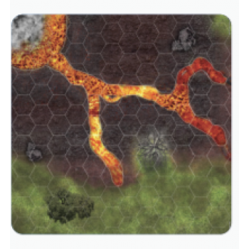 Jurassic World Miniature Game: Volcano Map