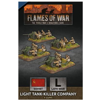 Flames of War - Light Tank-Killer Company (x4 Plastic)