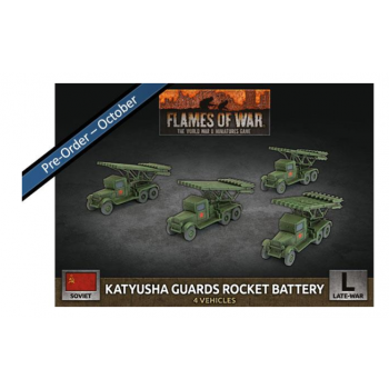 Flames of War - Katyusha Guards Rocket Battery (x4 Plastic)