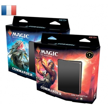 MTG - Commander Legends Commander Deck Display (6 Decks) - FR