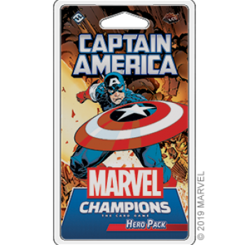 Marvel Champions: The Card Game - Captain America Erweiterung - DE