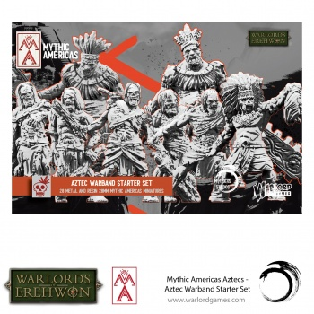 Warlords of Erehwon: Mythic Americas - Aztec Warband Starter Set - EN