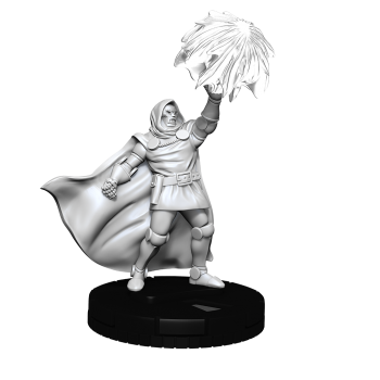 Marvel HeroClix Deep Cuts Unpainted Miniatures: Dr. Doom (4 Units) - EN