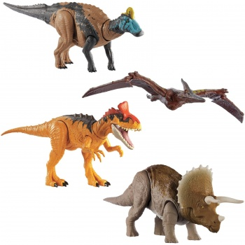 Jurassic World Roar-Attack assortment (3)