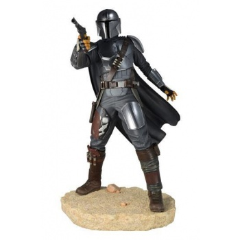 Star Wars Premier Collection Mandalorian MK3 Statue