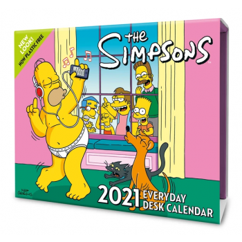 Danilo Calendar - The Simpsons Desk Block