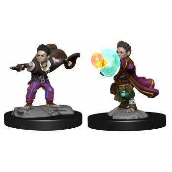 Pathfinder Deepcuts: Halfling Wizard Male (2 Units)