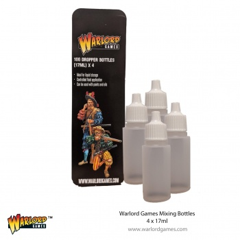 Warlord Mixing Bottles (4) x 17ml