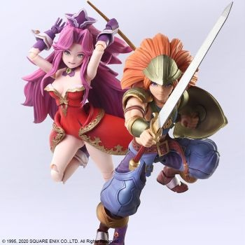 TRIALS OF MANA BRING ARTS ACTION FIGURE - DURAN & ANGELA