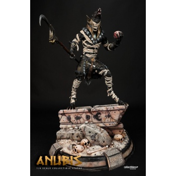 Silver Fox Collectibles - Anubis Legendary 1:4 Scale Statue