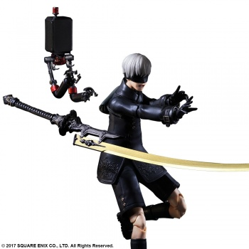 NIER:AUTOMATA PLAY ARTS KAI ACTION FIGURE 9S (YORHA NO.9 TYPE S) DELUXE VER>