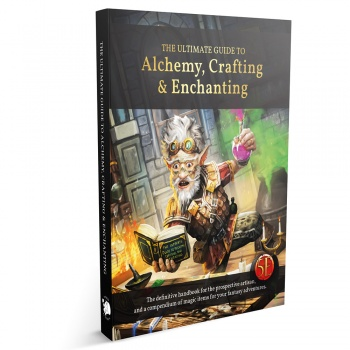 The Ultimate Guide to Alchemy, Crafting & Enchanting - EN