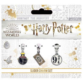 Harry Potter - S-Plated charm set - Hogwart's Express
