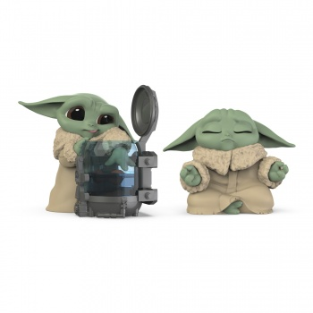 Star Wars The Bounty Collection Series 3, 2-Pack Curious Child, Meditation Poses