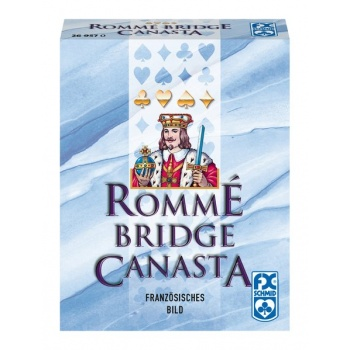 Rommé, Canasta, Bridge - DE